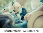 the moment of life is love. | Shutterstock . vector #623380478