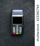 payment terminal or credit card ...   Shutterstock . vector #623382764