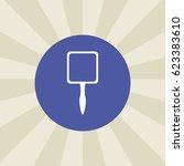 mirror icon. sign design.... | Shutterstock .eps vector #623383610