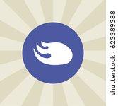nitro icon. sign design.... | Shutterstock .eps vector #623389388