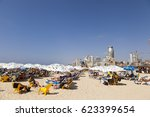 tel aviv  israel   august 18 ... | Shutterstock . vector #623399654