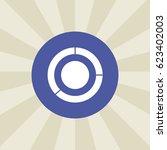 circle icon. sign design....