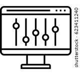 control vector icon | Shutterstock .eps vector #623411240