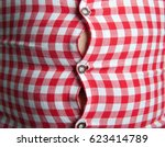 man with overweight. symbolic...   Shutterstock . vector #623414789