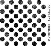 vector seamless pattern with... | Shutterstock .eps vector #623431730