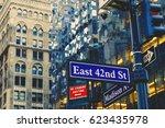 new york  ny  03 december  2016 ... | Shutterstock . vector #623435978