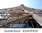 eiffel tower  | Shutterstock . vector #623439320