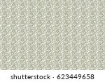 neutral and white abstract...   Shutterstock . vector #623449658