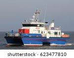 cuxhaven  germany   november 7  ... | Shutterstock . vector #623477810