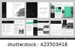 design annual report vector... | Shutterstock .eps vector #623503418