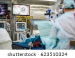 ophthalmology operation.... | Shutterstock . vector #623510324