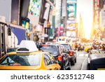 times square  manhattan  ... | Shutterstock . vector #623512748