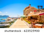beautiful mediterranean... | Shutterstock . vector #623525900