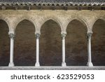 Columns And Arches Of Cloister...