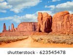 Navajo Tribal Park  Utah  Usa....