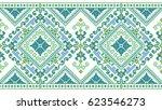 traditional ukrainian folk art... | Shutterstock .eps vector #623546273