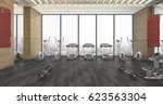 3d Rendering Wood Fitness And...