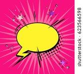 comic abstract vector.... | Shutterstock .eps vector #623566598