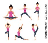 Set Woman Different Yoga