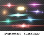 illustration of transparent... | Shutterstock .eps vector #623568830