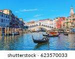 venice  italy   february 25 ... | Shutterstock . vector #623570033
