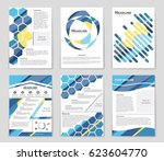 abstract vector layout... | Shutterstock .eps vector #623604770