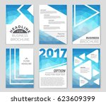 abstract vector layout... | Shutterstock .eps vector #623609399
