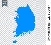 transparent   high detailed map ... | Shutterstock .eps vector #623623454