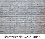 white bricks wall | Shutterstock . vector #623628854
