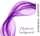 abstract background with purple ... | Shutterstock .eps vector #623647424