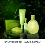 collection of premium brand of... | Shutterstock .eps vector #623652980