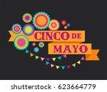 cinco de mayo   may 5  federal... | Shutterstock .eps vector #623664779