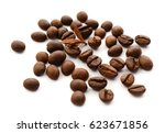 minus sign made from coffee... | Shutterstock . vector #623671856