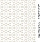 seamless geometric line pattern.... | Shutterstock .eps vector #623694599