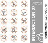 high quality thin line icons of ...   Shutterstock .eps vector #623722070
