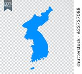 transparent   high map of north ... | Shutterstock .eps vector #623737088