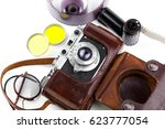 old camera | Shutterstock . vector #623777054
