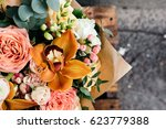 colorful  bouquet of different... | Shutterstock . vector #623779388