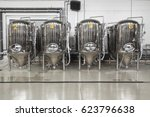 Brewery. Modern Beer Plant Wit...