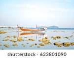 beautiful sunset twilight... | Shutterstock . vector #623801090