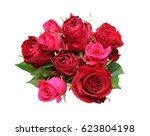 Stock photo bouquet of rose 623804198