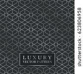 luxury seamless geometric... | Shutterstock .eps vector #623806958