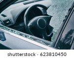 a criminal incident. hacking... | Shutterstock . vector #623810450