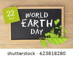 world earth day concept   Shutterstock . vector #623818280