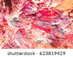 hand drawn oil painting.... | Shutterstock . vector #623819429