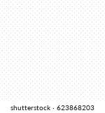 seamless polka dot pattern.... | Shutterstock . vector #623868203