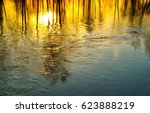 Sunset Reflection In Water....