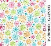 seamless background for... | Shutterstock .eps vector #623897858