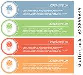 business cards design.... | Shutterstock .eps vector #623899649