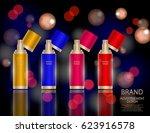 glamorous facial treatment... | Shutterstock .eps vector #623916578